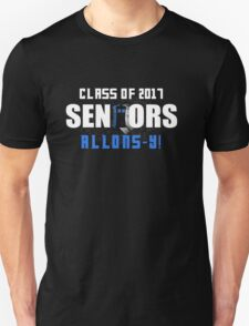 Class Of 2017 Seniors  Doctor Who Unisex T-Shirt