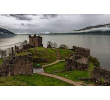 Urquhart Castle on Loch Ness 3 Photographic Print