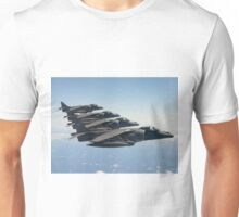 RAF Harrier 4-ship Unisex T-Shirt