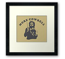 WILL FERRELL - MORE COWBELL Framed Print