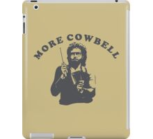 WILL FERRELL - MORE COWBELL iPad Case/Skin