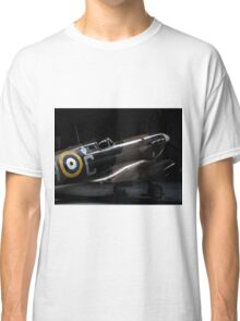 RAF Spitfire in the Hanger Classic T-Shirt
