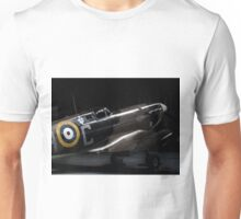 RAF Spitfire in the Hanger Unisex T-Shirt