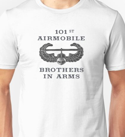 Airmobile Wings - 101st Airmobile - Brothers in Arms Unisex T-Shirt
