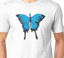 Blue Mountain Butterfly Dragon Unisex T-Shirt
