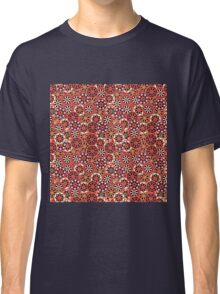 Japanese Flower Pattern Classic T-Shirt