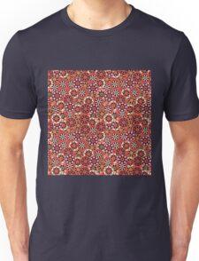Japanese Flower Pattern Unisex T-Shirt