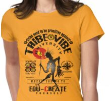 tribe vibe university Womens Fitted T-Shirt