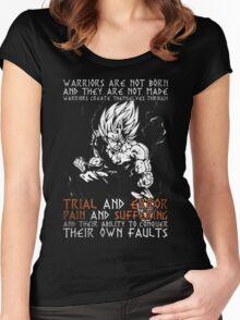 DRAGON BALL Z - ANIME - MANGA - GAMES Women's Fitted Scoop T-Shirt