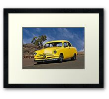 1950 Ford 'Shoebox' Coupe Framed Print