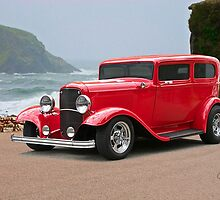1932 Ford 'chopped top' Sedan by DaveKoontz