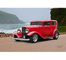 1932 Ford 'chopped top' Sedan Photographic Print