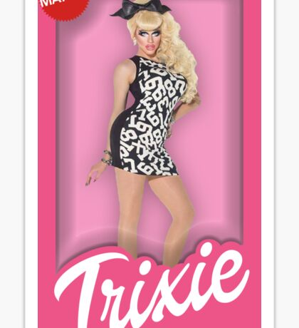 Trixie Mattel Doll Sticker