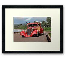 1933 Desoto 'Street Rod' Coupe II Framed Print