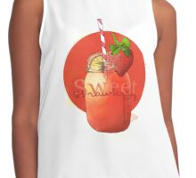 Sweet Strawberry Contrast Tank