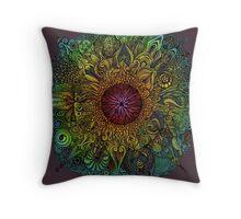 Mandala of Nieve Throw Pillow