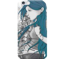 Every thought blue version iPhone Case/Skin