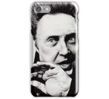 Christopher Walken - Ballpoint Pen iPhone Case/Skin