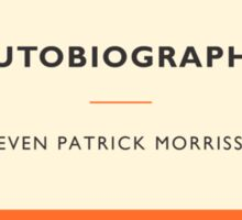 Imaginary Morrissey Autobiography Cover 2 - Penguin Classics Sticker