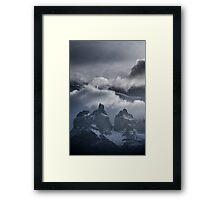 Torres del Paine Framed Print