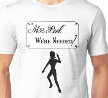 Mrs Peel - We're Needed 2 Unisex T-Shirt