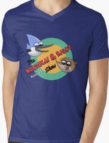 The Regular Show Mens V-Neck T-Shirt