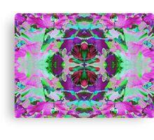 Psycho Exotic, Lotus Flower Canvas Print