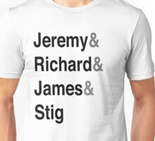 Jeremy & Richard & James & Stig Unisex T-Shirt