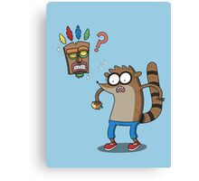 Rigby Bandicoot Canvas Print