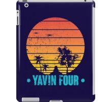 Visit Tropical Yavin Four! iPad Case/Skin