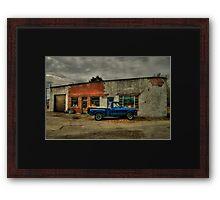 Osgood Garage Framed Print