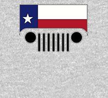 Texas Flag Jeep Logo Unisex T-Shirt