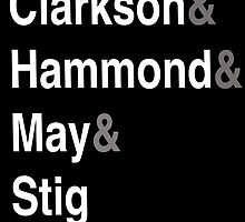 Clarkson & Hammond & May & Stig by HowHardCanItBe