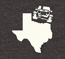 Texas Outline Jeep Logo Unisex T-Shirt