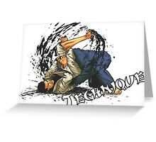 Jiu-Jitsu Bjj Martial Arts Greeting Card