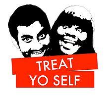 Treat Yo Self by Anna Iwanuch