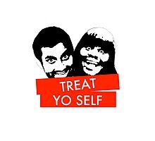 Treat Yo Self Photographic Print