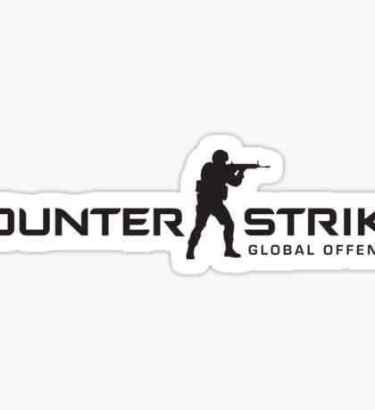 COUNTER STRIKE GLOBAL OFFENSIVE LOGO BACK Sticker