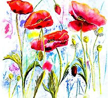 Poppies by A Portrait  of Europe