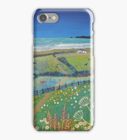 Summer's Night by the Sea iPhone Case/Skin