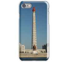 Juche Tower, Pyongyang iPhone Case/Skin