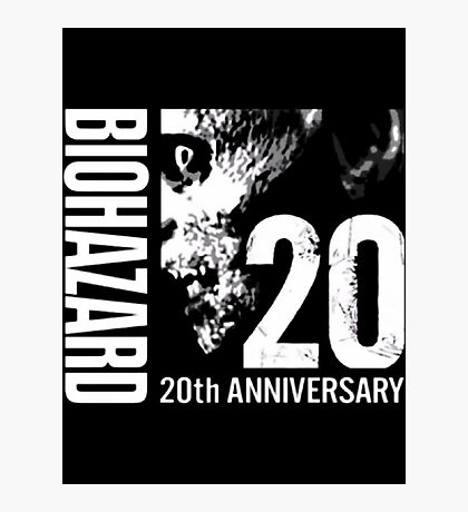 Resident Evil - 20th Anniversary Japanese With Anniversary Text Photographic Print