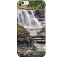 Genesee River Lower Falls at Letchworth iPhone Case/Skin