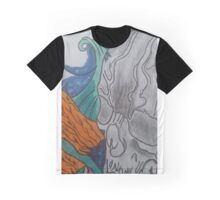 Skull and finger waves  Graphic T-Shirt