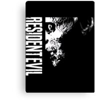 Resident Evil - 20th Anniversary Minus Anniversary Text Canvas Print
