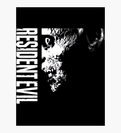 Resident Evil - 20th Anniversary Minus Anniversary Text Photographic Print
