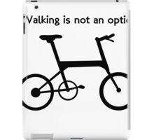 Cyclists T Shirt iPad Case/Skin