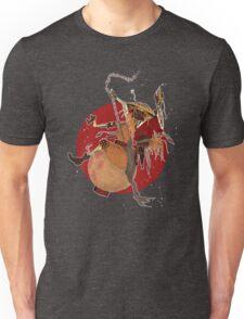 Mysterious Drunken Samurai Unisex T-Shirt