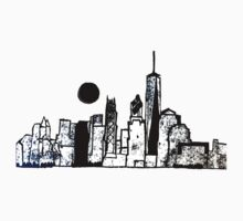 New York Skyline Kids Tee