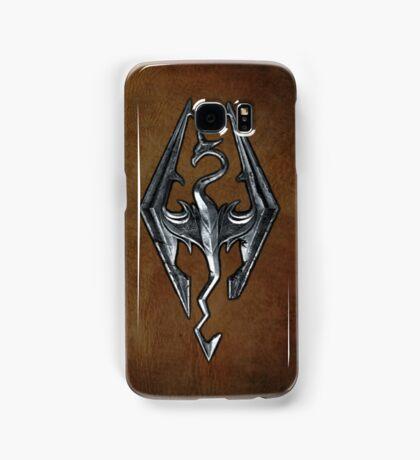 Skyrim Worn Leather Symbol Samsung Galaxy Case/Skin